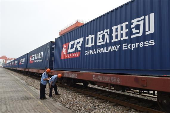 8 China-Europe Freight Trains